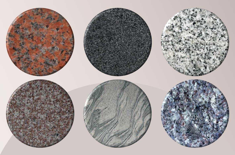 boje i vrste granita