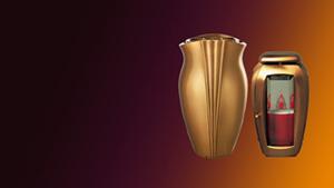 nadgrobna vaza i nadgrobni svijecnja za spomenike